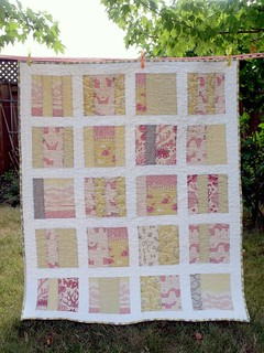 Dotty Logic: Beachcomber mixtape quilt