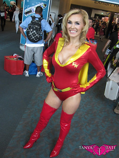 Cosplay Pic - Tanya Tate™ as Electrawoman for San Diego Comic Con 2011
