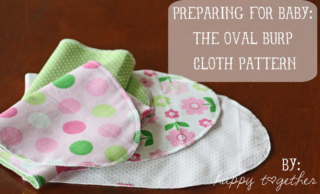 Baby Burp Cloth and Bib Sets | AllFreeSewing.com