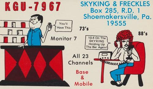 KGU-7967 - Skyking & Freckles - Shoemakersville, Pennsylvania