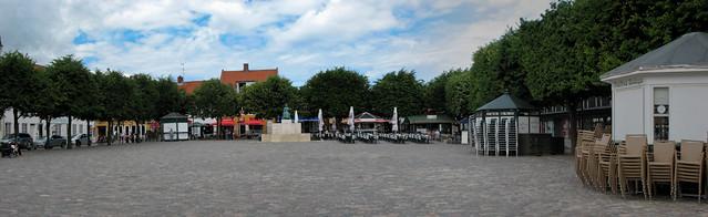 Хельсингёр - центральная площадь