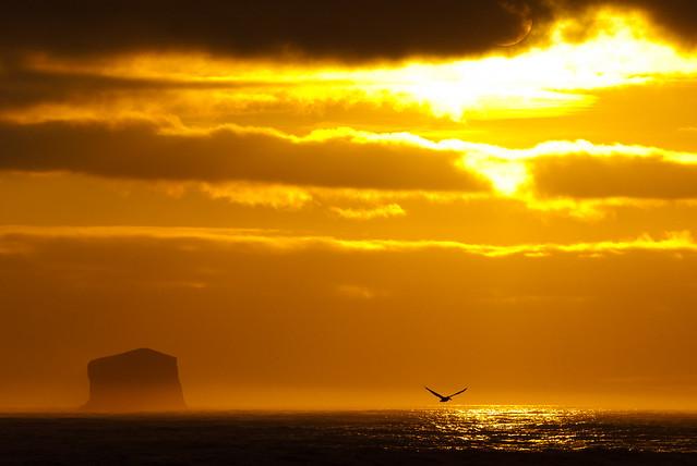 Sunset from Rialto Beach