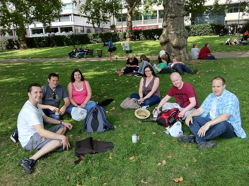 Friends in Green Park