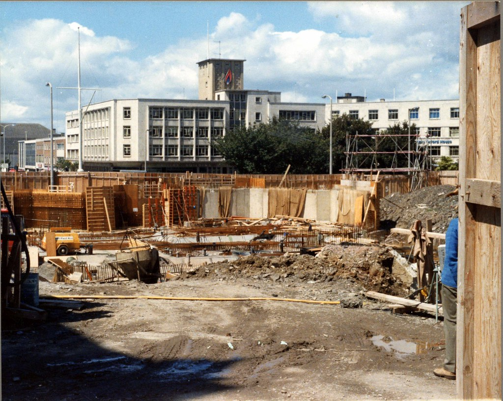 Theatre Royal construction site at Derry's Cross | Theatre R