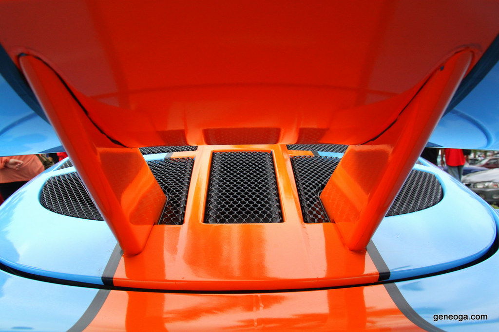 The wing of Lotus Exige