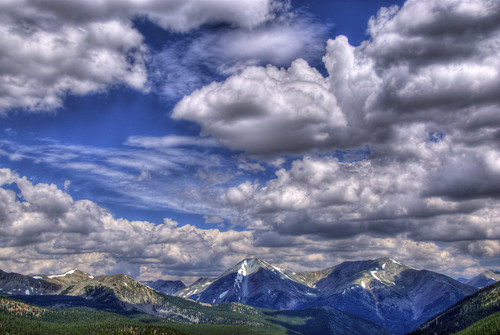 summer sky mountain snow ski nature clouds landscape photo colorado image pass picture peak resort monarch summit salida rockymountains crestedbutte gunnison continentaldivide monarchpass sawatchrange 201107