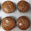 Caramel fudge cupcakes