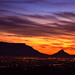 Table Mountain Sunset by GerhardStimie