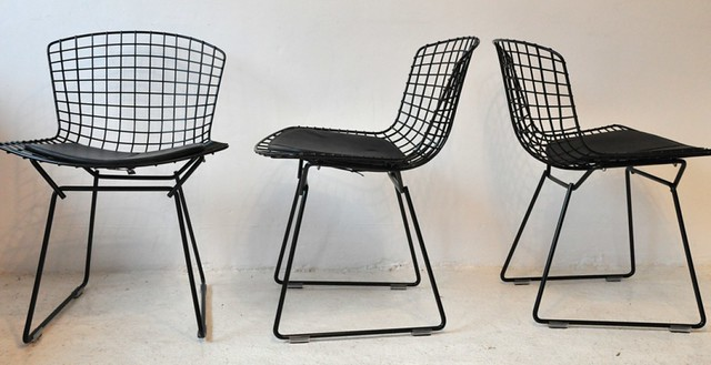 Harry Bertoia 420C chairs for Knoll