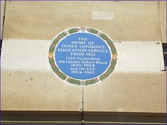 Photo of Inner London Education Authority blue plaque