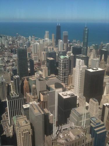 Vistas desde el piso 103 de la torre Sears