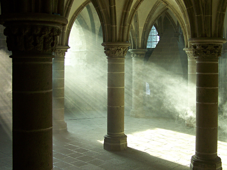 Interior del Monte San Michel