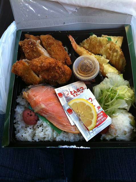 Bento box from Marukai in Gardena, CA