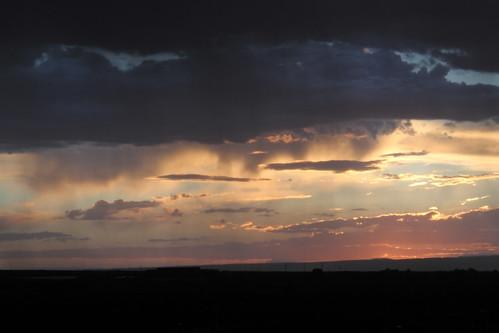 taos thunderstorm sunset bobrussell russell rmrussell