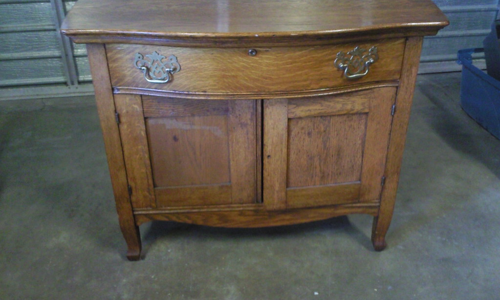 Antique Wash Table - $195