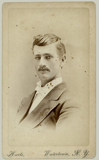 CDV Man with moustache