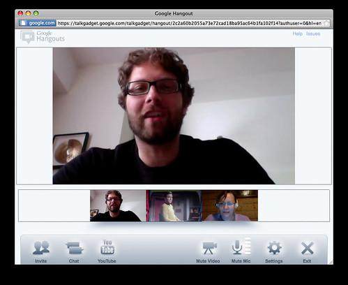 iGoogle Hangout
