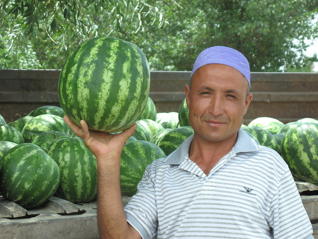 Muhammed and his melons