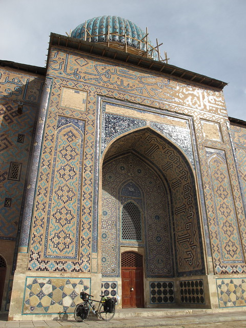 Mausoleum at Turkistan