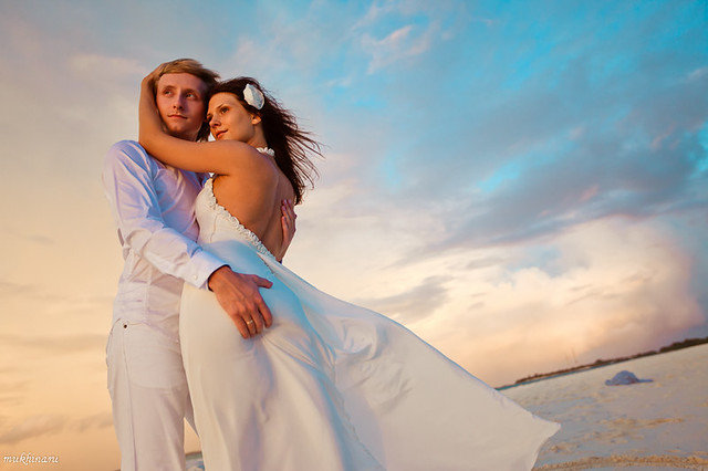 Maldives destination wedding