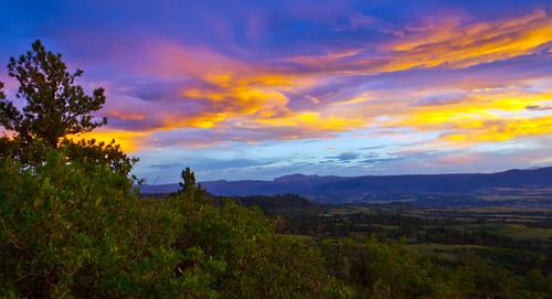 sunset sky landscape colorado devilshead douglascounty danielspark mygearandme
