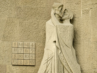 The Magic Square of the Basílica de la Sagrada Família
