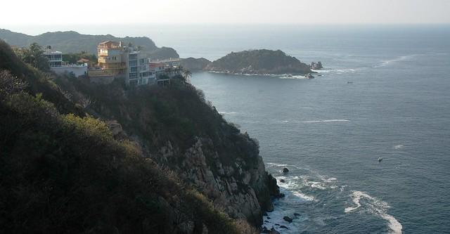 View from Hotel Los Flamingos, Acapulco, Mexico