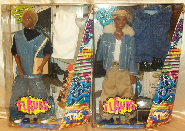2 different NRFB Tre' dolls