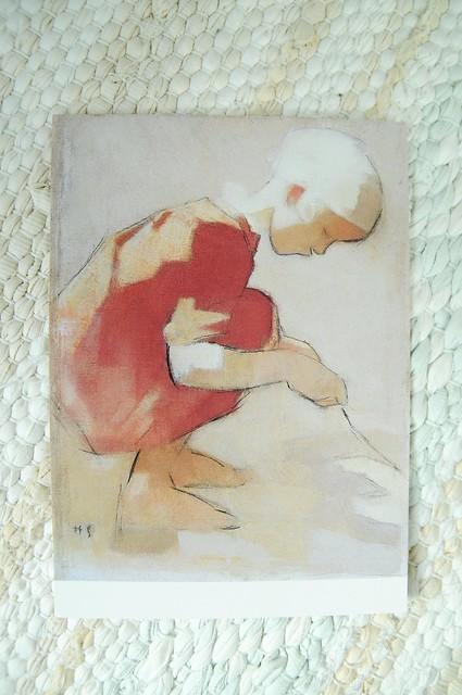 Tyttö hiekkakuopassa, 1942