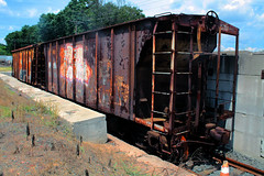 Abandoned Trains - Granby, Connecticut