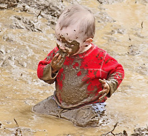 National Kids to Parks Day, mud games at Cottonwood Horse Park in Homer, Alaska