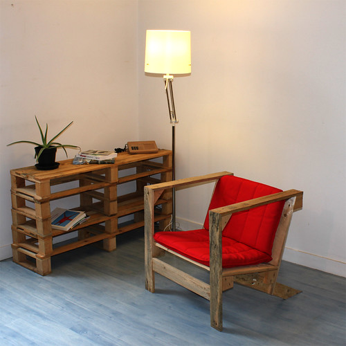 Pallet Chair and Unit