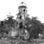 Kawit, Cavite, Philippines, Philippine–American War distroyed church early 20th century.
