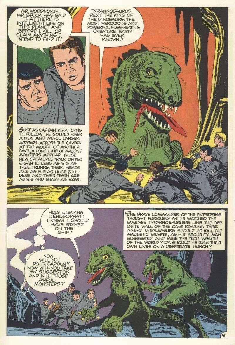 Startrek Tos-Dinosaur Planet-16