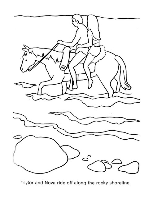 Planet of the Apes Coloring Book 0200063