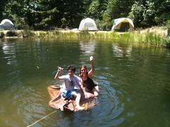 Team brawny raft