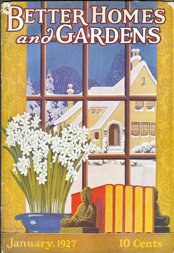 Better Homes and Gardens Cover January 1927