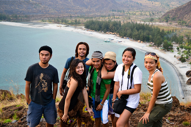 Pinoy Travel Bloggers in Nagsasa Cove