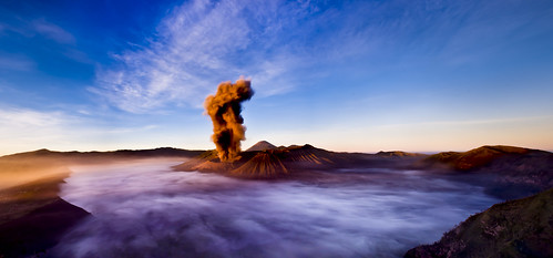 """ERUPT"" Java ~ Indonesia ~ Mt. Bromo ~ Landscape ~ Photography"