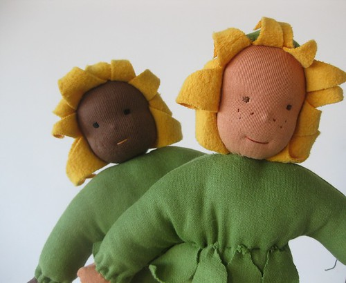 Sunflower cuddle doll