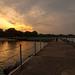Breakwater Sunset by benchorizo