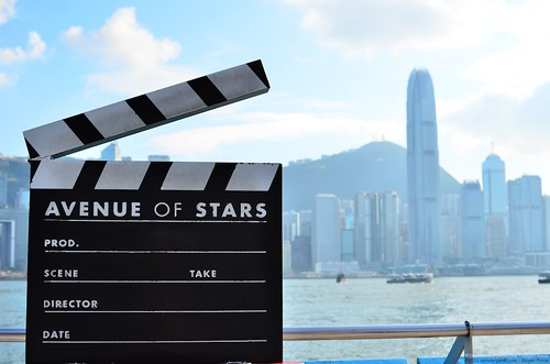The Giant Clapper board @ Avenue of Stars