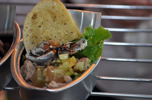 Tuna in a Can from Cameron Mitchell Catering