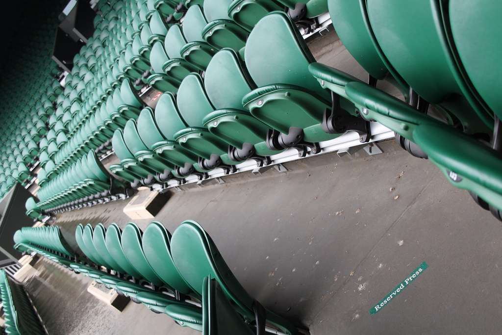 Wimbledon Centre Court seats