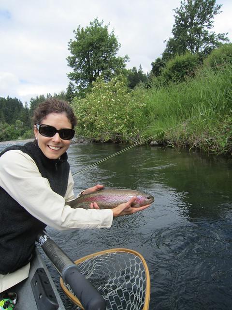 Mckenzie and willamette river report fish porn the for Willamette river fishing report