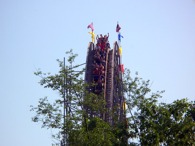 Holiday World - The Voyage First Drop