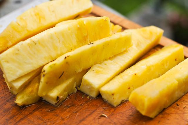 Rum-Glazed Pineapple
