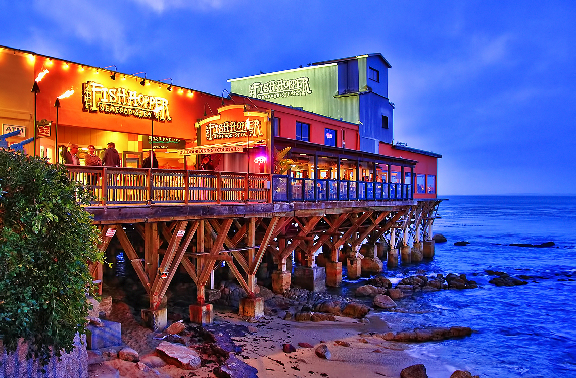 the colorful fish hopper on monterey bay flickr photo