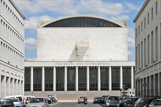 Palazzo dei Congressi の画像. italy rome roma italia eur italie palazzodeicongressi dalbera architecturefasciste