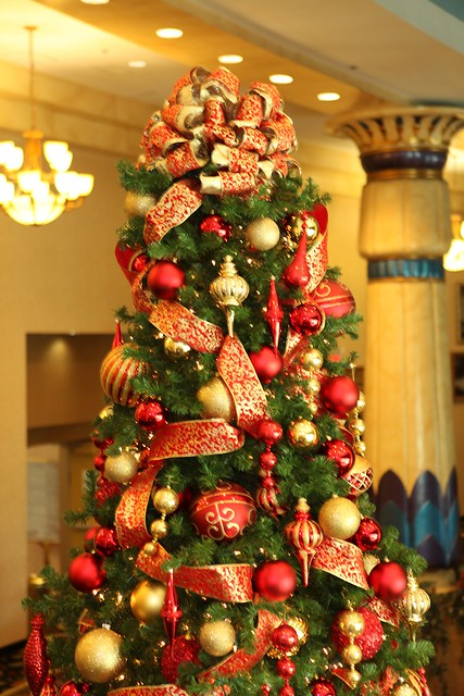 Decorating Ideas > Red And Gold Christmas Tree Topper  Flickr  Photo Sharing! ~ 043418_Christmas Tree Decoration Ideas Gold And Red